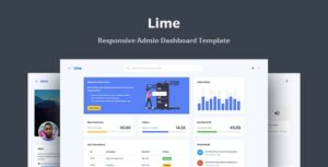 Lime v1.0 - Responsive Admin Dashboard Template