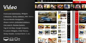 Video News v3.1 - WordPress Magazine / Newspaper Theme