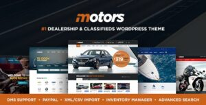 Motors v4.6.4.2 - Automotive, Cars, Vehicle, Boat Dealership