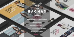 Bachas v2.5 - DRAG & DROP Multipurpose Responsive Shopify Theme
