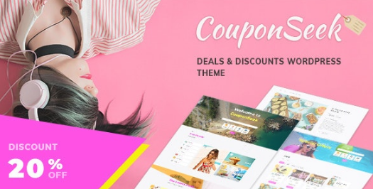 CouponSeek - Deals & Discounts WordPress Theme v1.1.3