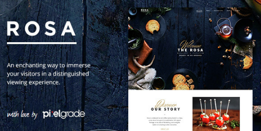 ROSA - v2.6.0 An Exquisite Restaurant WordPress Theme