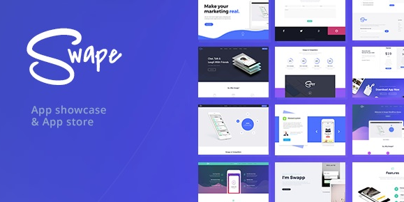 Swape v1.6 - App Showcase & App Store WordPress Theme