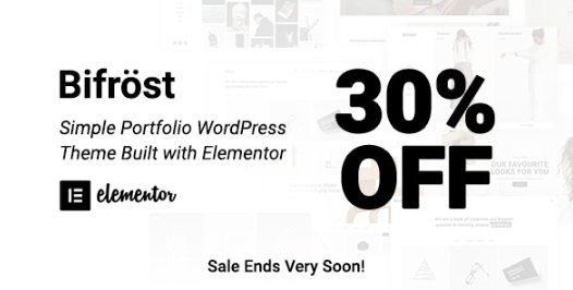 Bifrost v2.1.3 - Simple Portfolio WordPress Theme Nulled