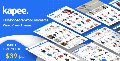 Kapee v1.3.5 - Fashion Store WooCommerce Theme