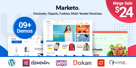 Marketo v2.7 - ECommerce & Multivendor A Woocommerce WordPress Theme
