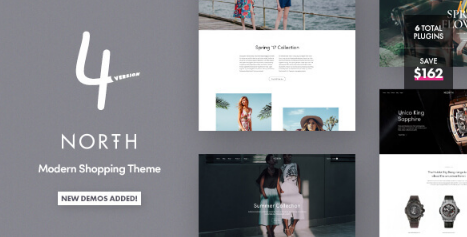 North v5.5.2 - Responsive WooCommerce Theme