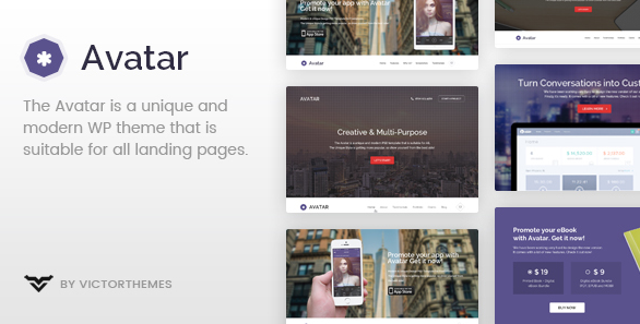 Avatar v2.2 - One & Multi Page Parallax WordPress Theme