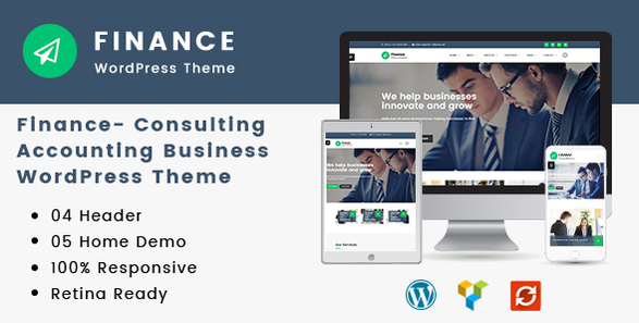 Finance v1.3.2 - Consulting, Accounting WordPress Theme