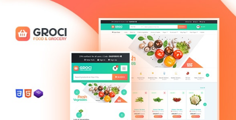 Groci v2.0.5 - Organic Food and Grocery Market WordPress Theme