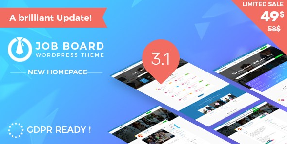 InJob v3.4.4 - Job Board WordPress Theme