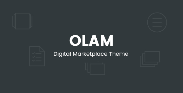Olam v4.6.0 - WordPress Easy Digital Downloads Theme, Digital Marketplace, Bookings