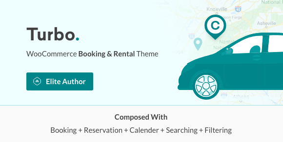 Turbo v6.0.8 - WooCommerce Rental & Booking Theme