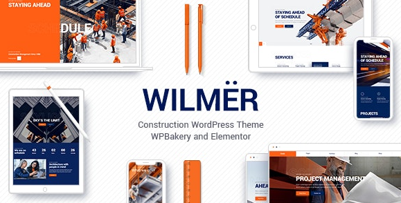 Wilmer v2.3 - Construction WordPress Theme