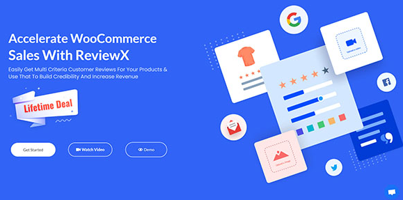 ReviewX Pro v1.1.4 - Accelerate WooCommerce Sales With ReviewX